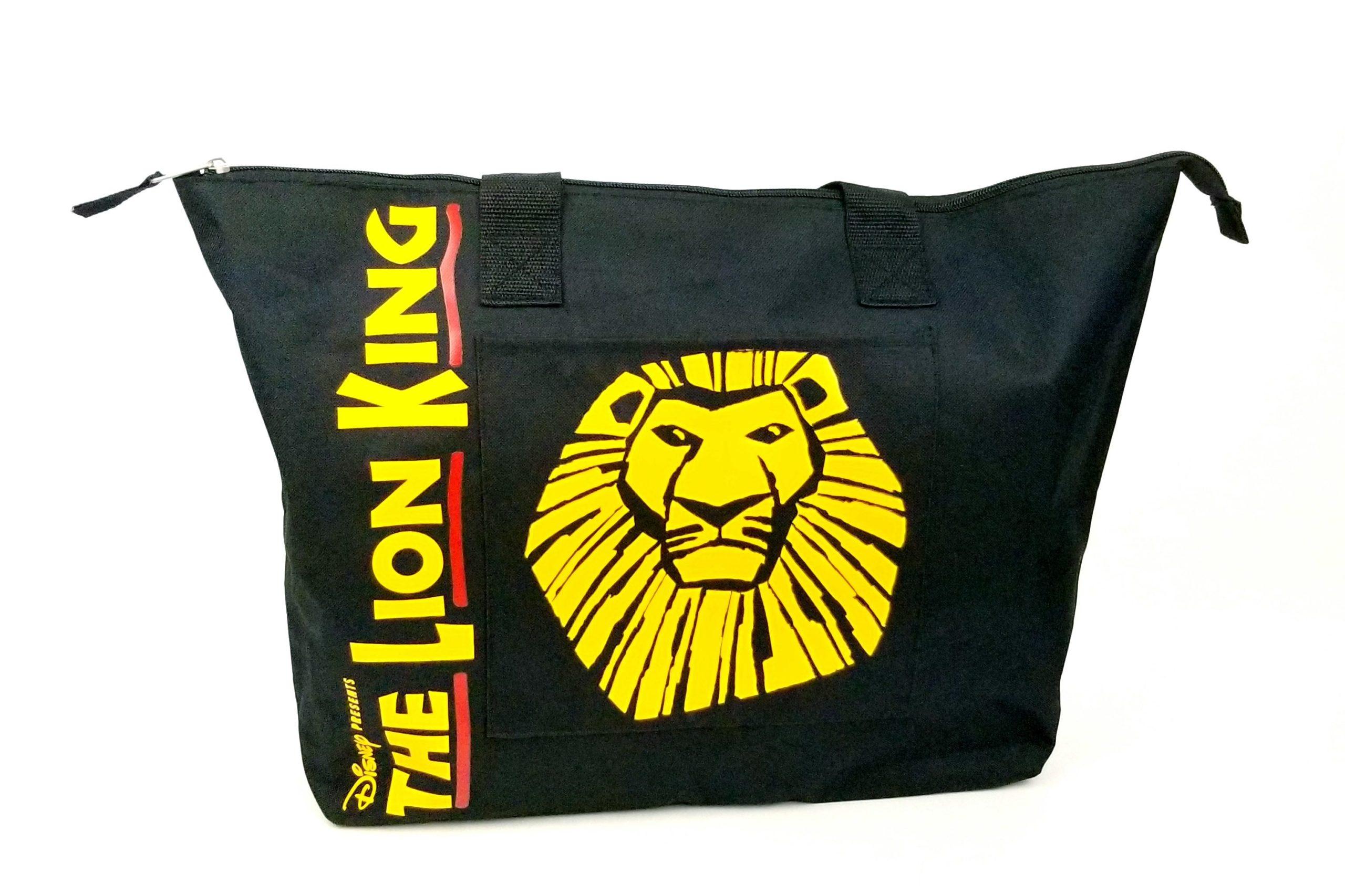 Disney's The Lion King Zippered Tote Bag - Retell Seller